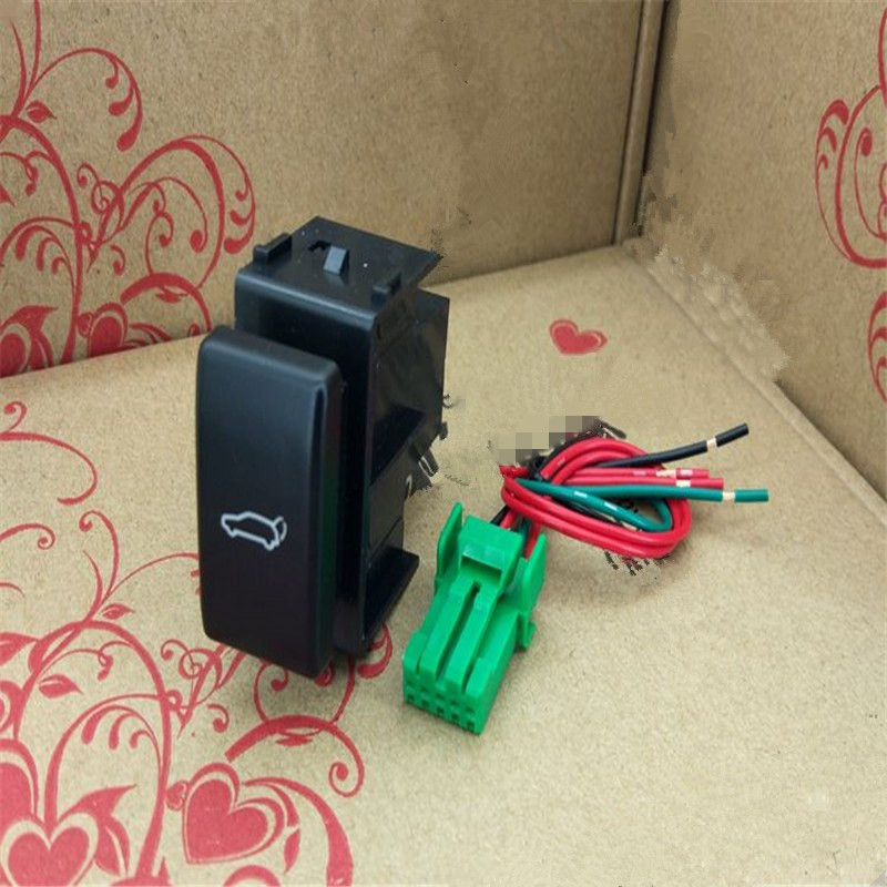 JINGHANG For Nissan Tiida Hatchback (2005-2008) Tailgate / Trunk Switch With Wire Free Shipping