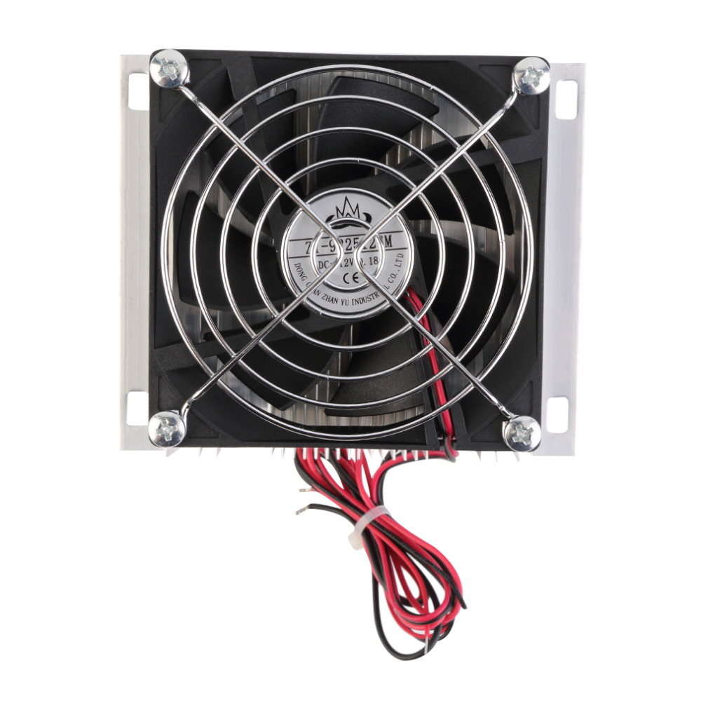 Gadget Cooler Fan cpu cooler pc fan controller 60W Thermoelectric Peltier Cooler Refrigeration Semiconductor Cooling System Kit practical 12v 6a thermoelectric peltier semiconductor cooler refrigeration cooling system diy kit fan 175 100 98 mm mayitr