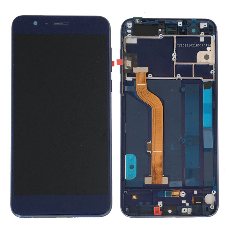 Blue LCD Display Glass Touch Screen Digitizer Assembly+Frame For HuaWei Honor 8 NEW Blue LCD Display Glass Touch Screen Digitizer Assembly+Frame For HuaWei Honor 8 NEW