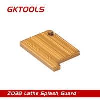 GKTOOLS, protector contra salpicaduras de torno, placa de refuerzo utilizada para soportar la parte delantera de la herramienta de torneado de metal, Z038