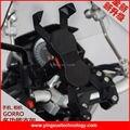 Vespa de la motocicleta de Montaje En Espejo Retrovisor Soporte para Teléfono Celular para Gopro y Teléfonos Inteligentes de Pantalla 4-6 Pulgadas