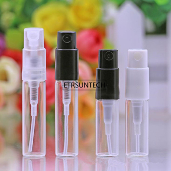 2ml 3ml Travel Clear Mini Glass Spray Perfume Bottle Small Sample Parfum Atomizer Fragrance Container F2065