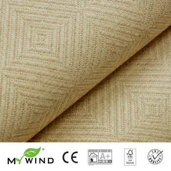 2019 MY WIND Grasscloth Wallpapers Luxury Natural 3D Design Wallpaper home decoration designs damask roll marble