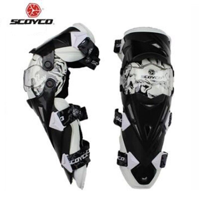 Haute Qualité Authentique Moto Genou Protecteur Motocross Racing Garde Genouillères Équipement De Protection Scoyco K12