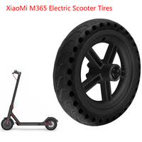 Wheel Hub Explosion Proof Tire Set For Xiaomi M365 Electric Scooter Aluminum Alloy Anti Skidding Xiaomi M365 Scooter Tire Wheels