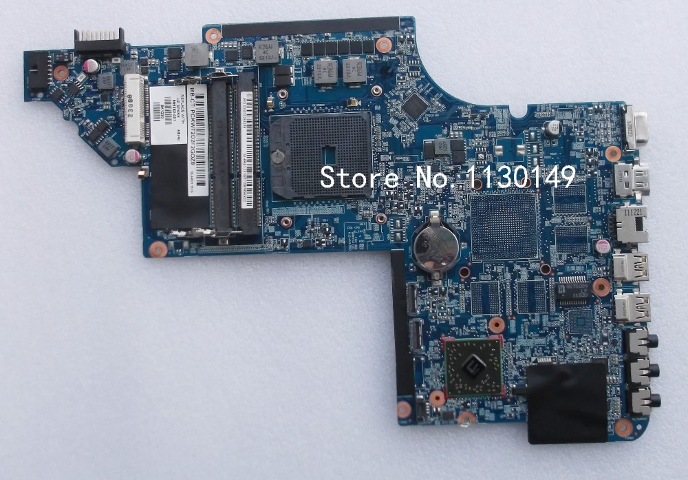 665282-001 for HP DV6 DV6-6000 Laptop motherboard 100% Tested and guaranteed in good working condition!! for hp 6545b 583257 001 laptop motherboard working well and full tested