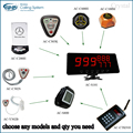 (choose any models and qty you need)Paging System With Led Display With Smart Watch Guest Paging Ssytem
