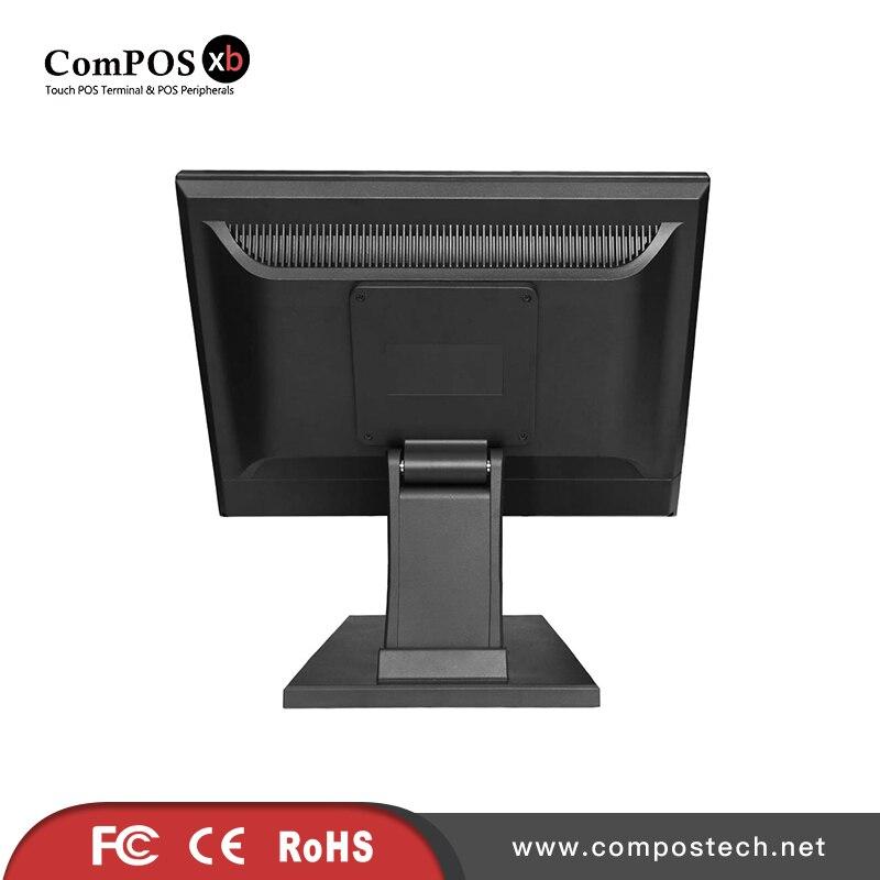 Kostenloser Versand 5 Draht Resistiven Touchscreen Touch Monitor 15