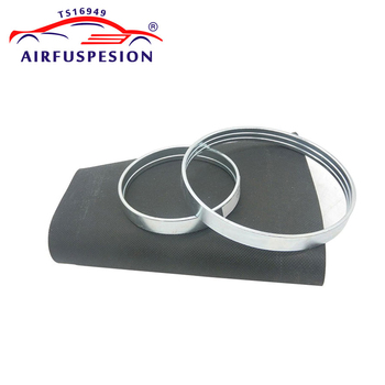 For BMW F01 F02 F04 Rear Air Spring Rubber Sleeve Bladder With Rings Air suspension repair kits Bellow 37126796929 37126796930 image