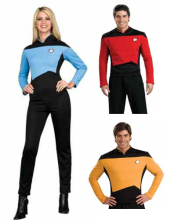 Star Trek Halloween Cosplay Costume Medical / Science Uniform top+pant For Men 3 Colors Free Shipping