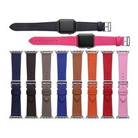 CHIMAERA Fashion Genuine Leather WatchStrap Replace For Iwatch Men Women For Apple Watch Band Series1 Series2