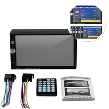 Universal HD 7'' Touch Screen Automagnitola 1 Din MP5 FM AUX Player Bluetooth Stereo Radio USB TF Auto Electronics цены