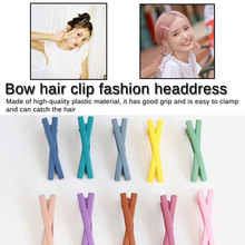 Uniquely 2019 New Bow knot Hairpins Hair Barrettes Children Accessories For Women Cute Girls  modeling Clip