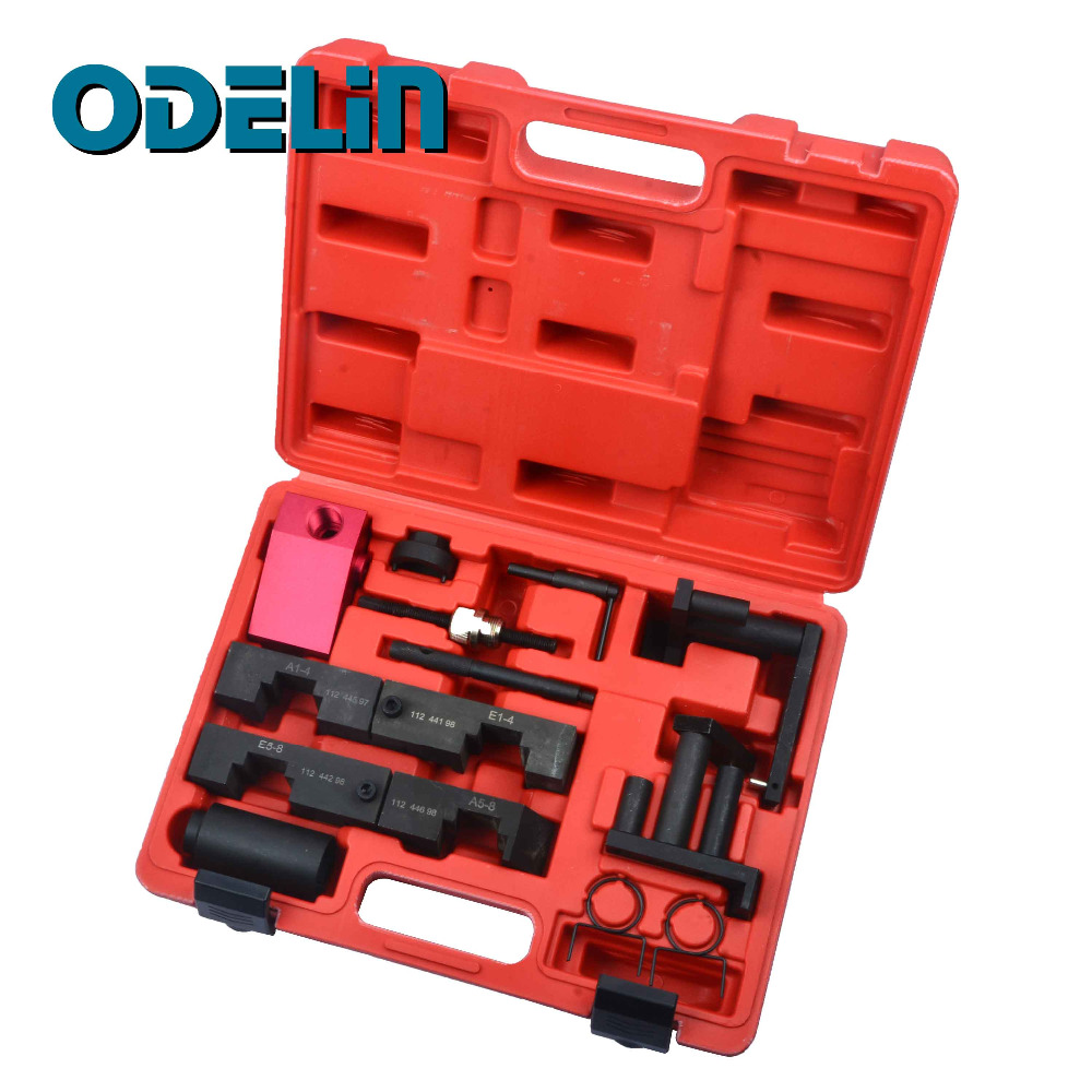 Camshaft Alignment VANOS Engine Timing Tool Kit For BMW M60 M62