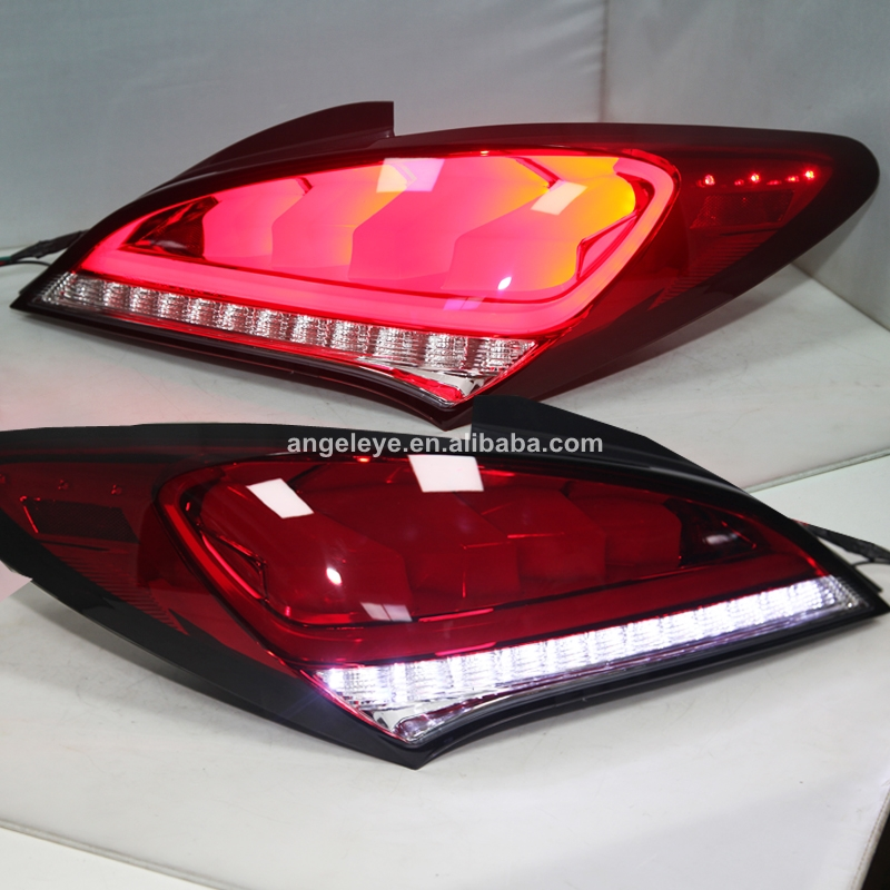 For Hyundai For Genesis Coupe Rohens 2009 2011 Tail Lamp Red White Color JY