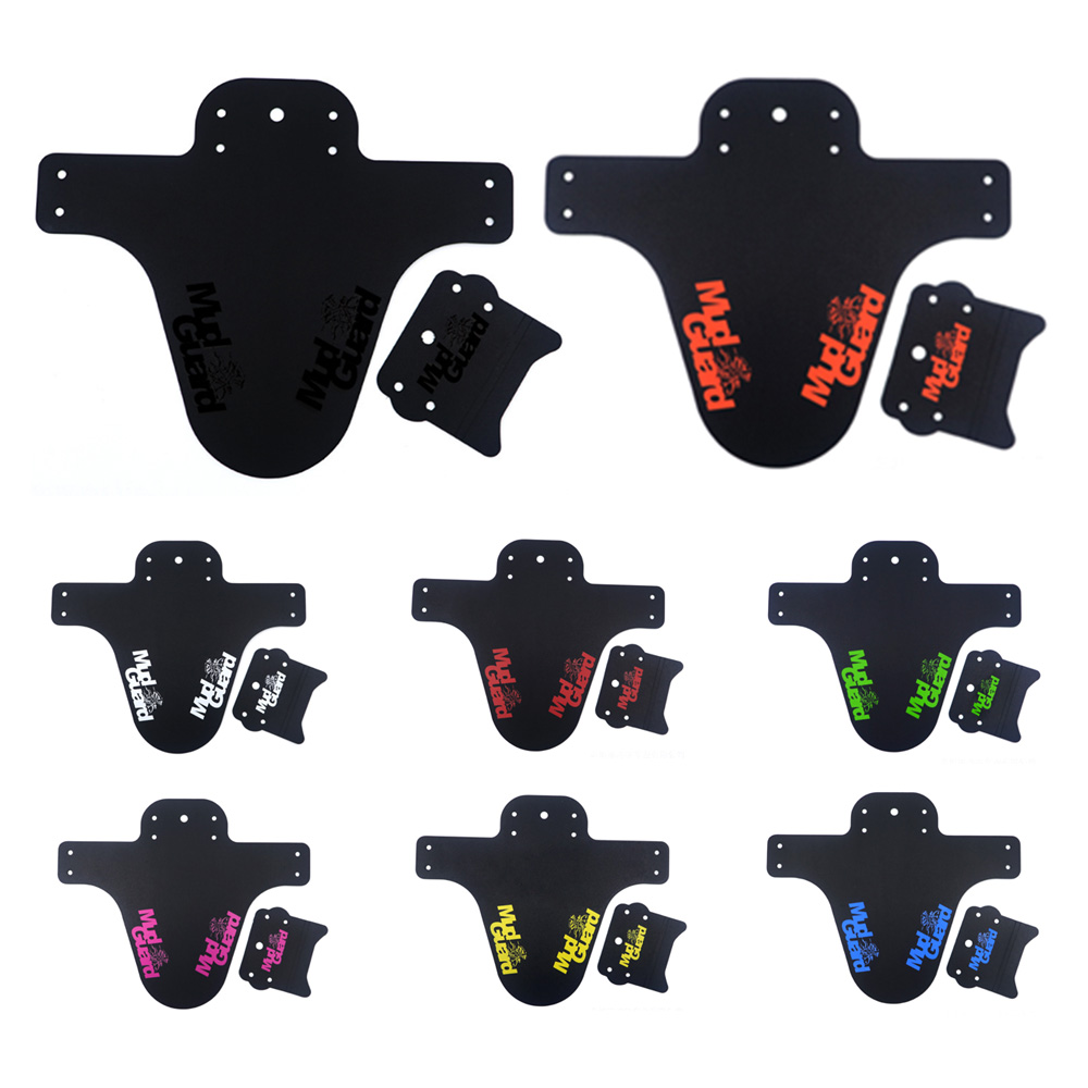 1PCS Road Front Rear Mudguard Bike Rear Fender Bicycle Accessories Cycling Plastic MTB Mudguard Quick Release Bike Fenders