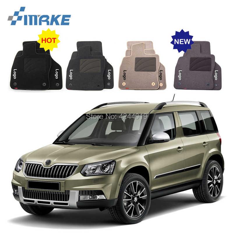 Автомобильные коврики всепогодные Передние Задние Коврики для автомобилей Автомобильные Коврики для Skoda Yeti