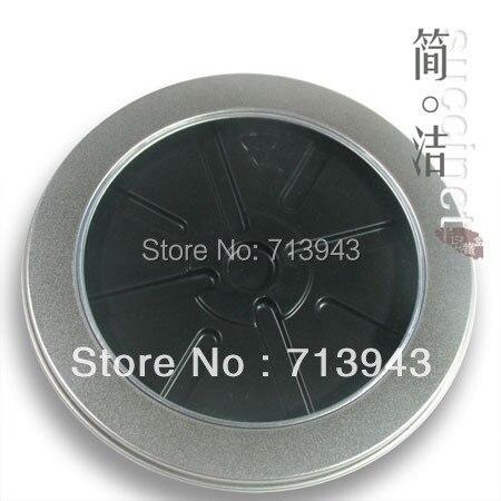 dia.133x9H mm round metal CD case/ CD/DVD metal holder