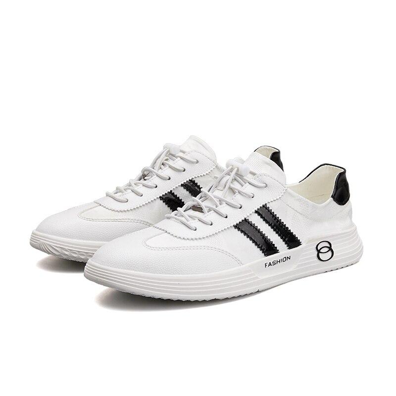 Hommes 2019 nouvelles chaussures blanches Version coréenne de la tendance des chaussures pour hommes d'été respirant sport décontracté sauvage Board chaussures