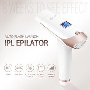 Image 3 - Lescolton 2в1 IPL эпилятор для удаления волос ЖК дисплей машина T009i лазер постоянный бикини триммер электрический эпилятор лазер