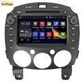 5.1.1 NAVITOPIA 16G 8 Pulgadas Android Coches Reproductor de DVD para MAZDA 2/para Mazda2 Jinxiang/DE/Tercera generación 2007-GPS navegación