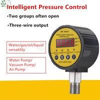 Цифровой ударопрочный магнитно помощь, свяжитесь с водой Давление датчик 0-1,6/0,6/40 МПа вакуумметр контроллер