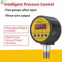 Digital Shock Resistant Magnetically Assisted Contact Water Pressure Gauge 0-1.6/0.6/40 MPa Vacuum Meter Controller