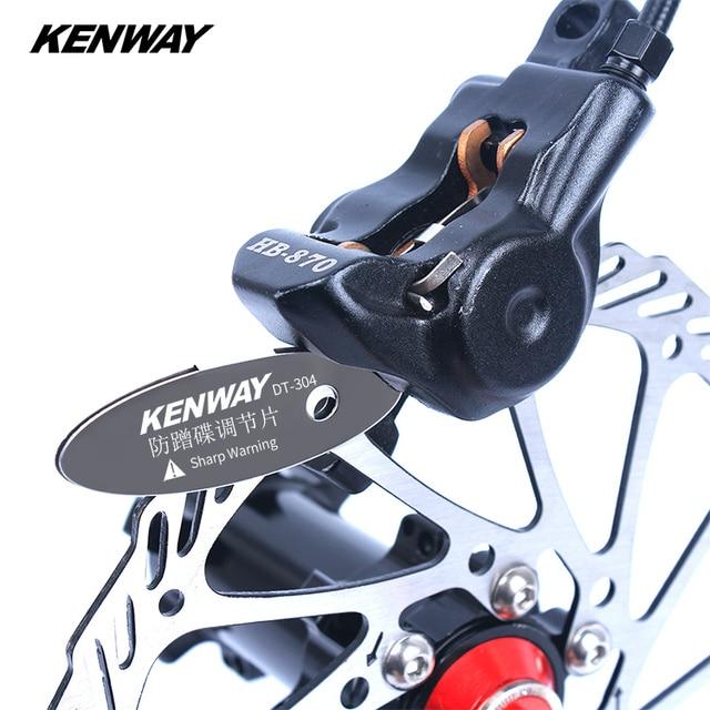 Kenway Mountain Bike Brake Pads Sharp Warning Correction Stainless