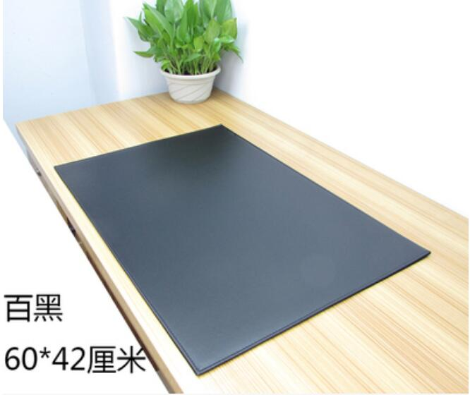 60*40CM PU Leather Office Desk Mat Business Desk Pad Writing Table Pad High-Grade Mouse Pad