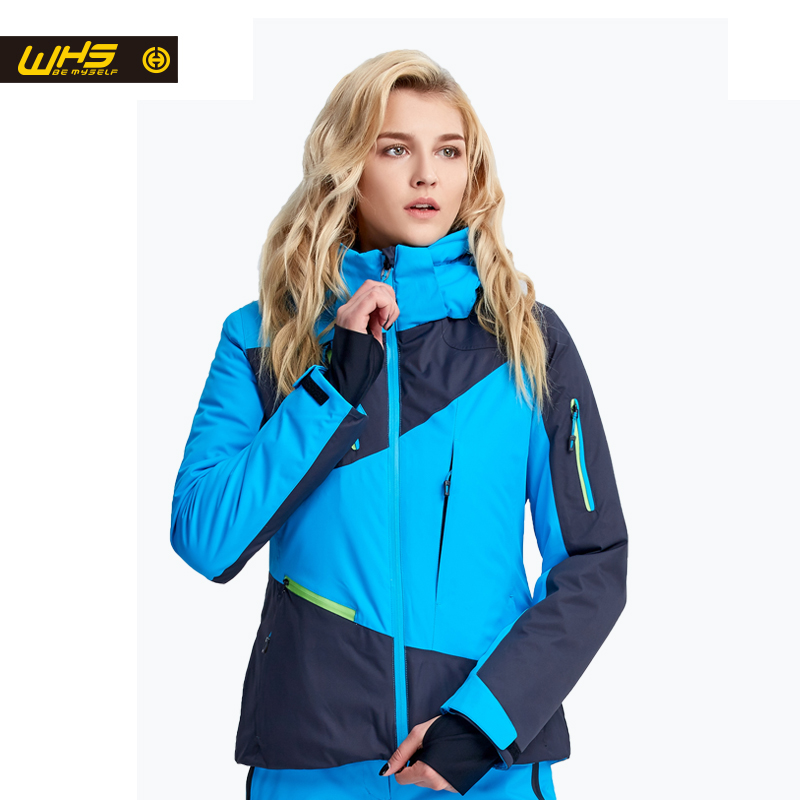 WHS жаңа әйелдер шаңғы куртка ханымдар - Спорттық киім мен керек-жарақтар - фото 3