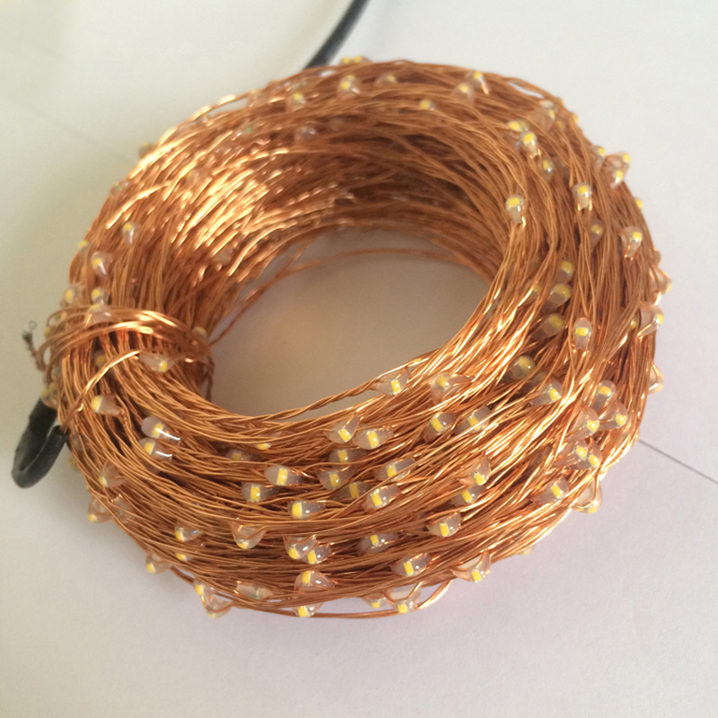 20 M / 66 Ft 200 LEDs Afstandsbediening Dimbare Led String Fairy - Vakantie verlichting - Foto 3