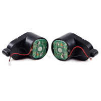 2pcs Set For Dibea X500 CR120 Side Brush Motors Assembly For A Vacuum Cleaner Including Left