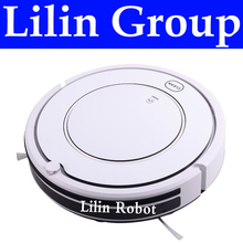 (Free to Russia) Robot Vacuum Cleaner, Two Side Brush,LED Touch Button.HEPA Filter,Remote Control,Self Charge,Mop,Schedule Work