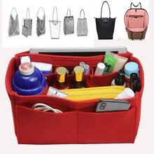 Fits Graceful MM PM Felt Cloth Insert Speedy Bag Organizer Makeup Handbag Travel Inner Purse Baby Cosmetic Mommy