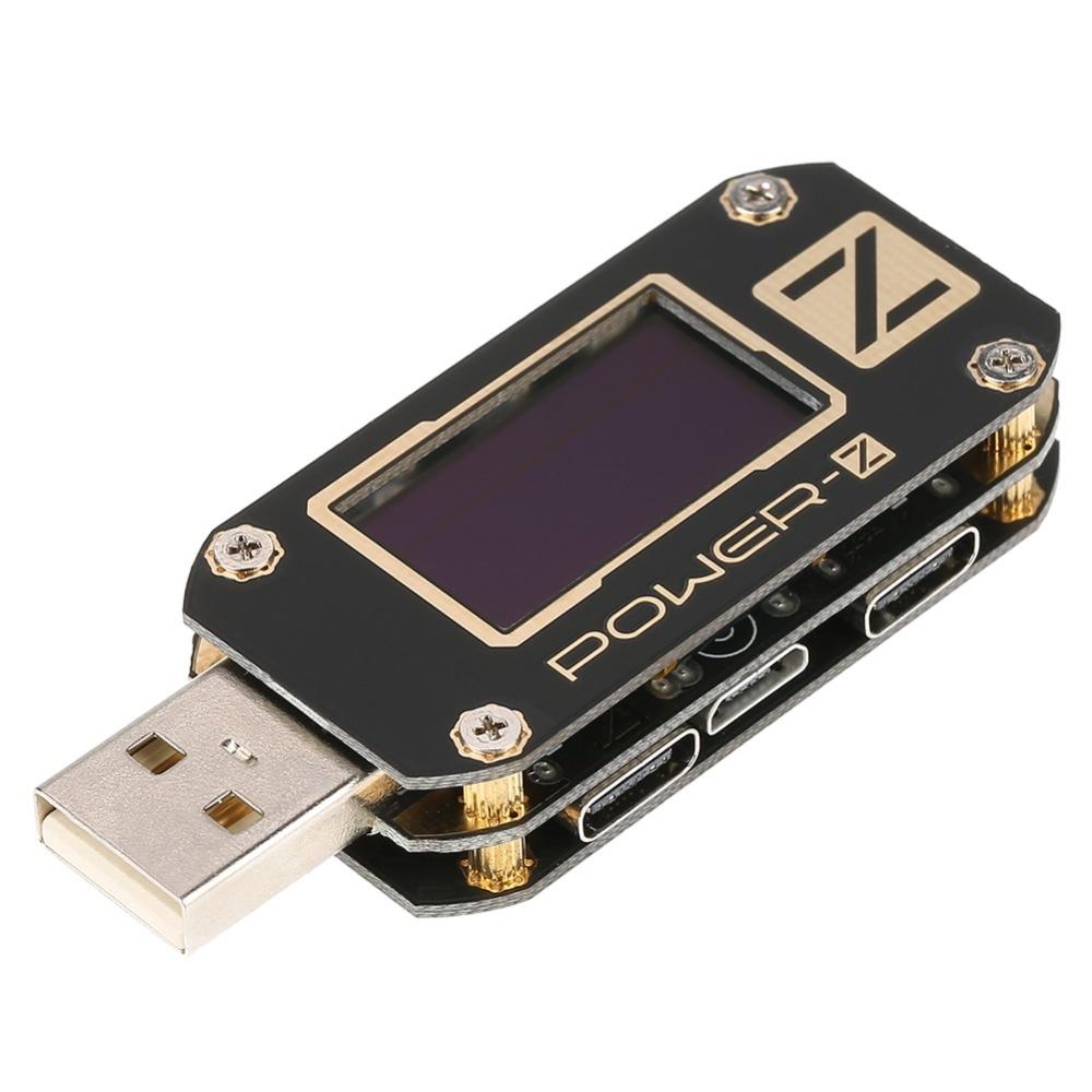 Probador de corriente de voltaje tipo C QC2.0/3,0/PD probador USB potencia Digital z corriente del Detector de banco probador de resistencia voltímetro Amp-in Medidores de voltaje from Herramientas on AliExpress - 11.11_Double 11_Singles' Day 1