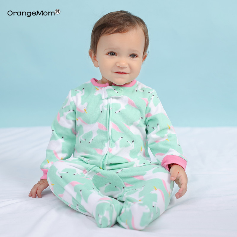 Baby clothing ! 2019 baby girl clothes Newborn clothes fleece   romper   long-sleeve baby product , infant boy clothes babies