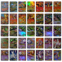 20/60/324Pcs Unrepeat EX GX MEGA Shining Cards Game Battle Carte Trading Cards For Children Pokemones Game Collection Toys Card(China)