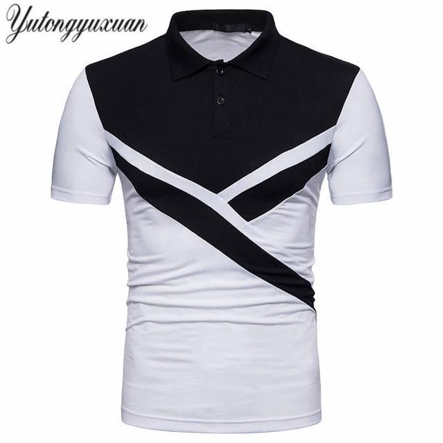 b55f0b88 ... buy 2018 latest topstees mens polo shirts fashion style summer  irregular brand short sleeve polo shirt