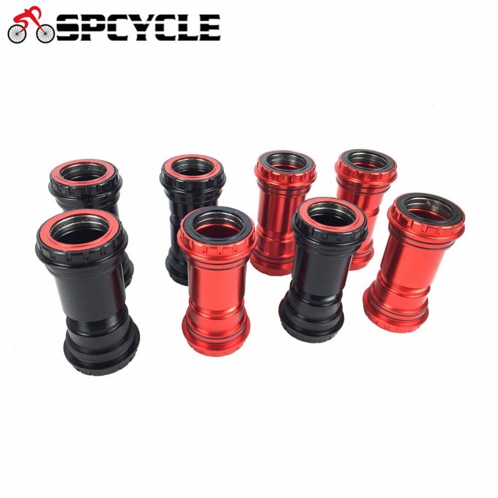Spcycle BB30 30 ミリメートルボトムブラケット 4 ベアリング圧入ロックボトムブラケット Mtb ロードバイク SRAM ローター FSA 30 ミリメートルクランクセット  グループ上の スポーツ & エンターテイメント からの ボトムブラケット の中 1