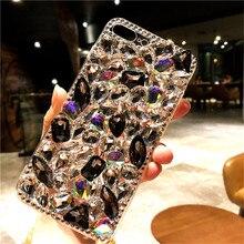 For Huawei P8 P9 P10 P20 P30 P40 Pro Lite Mate10 20 30 Pro Lite Luxury Glitter Crystal Bling Diamond rhinestone soft Phone case