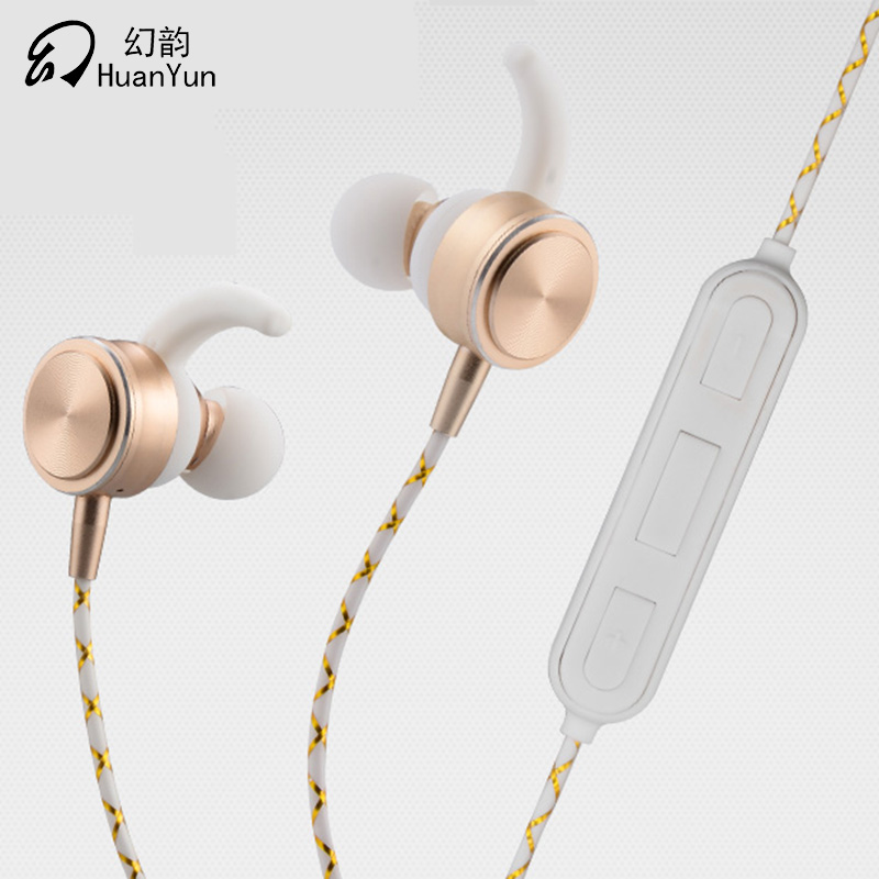 HuanYun Bluetooth Earphone  Wireless Earphones Sport Sweatproof IPX4  ear hook in-ear Music Earphone headset With Mic For phome