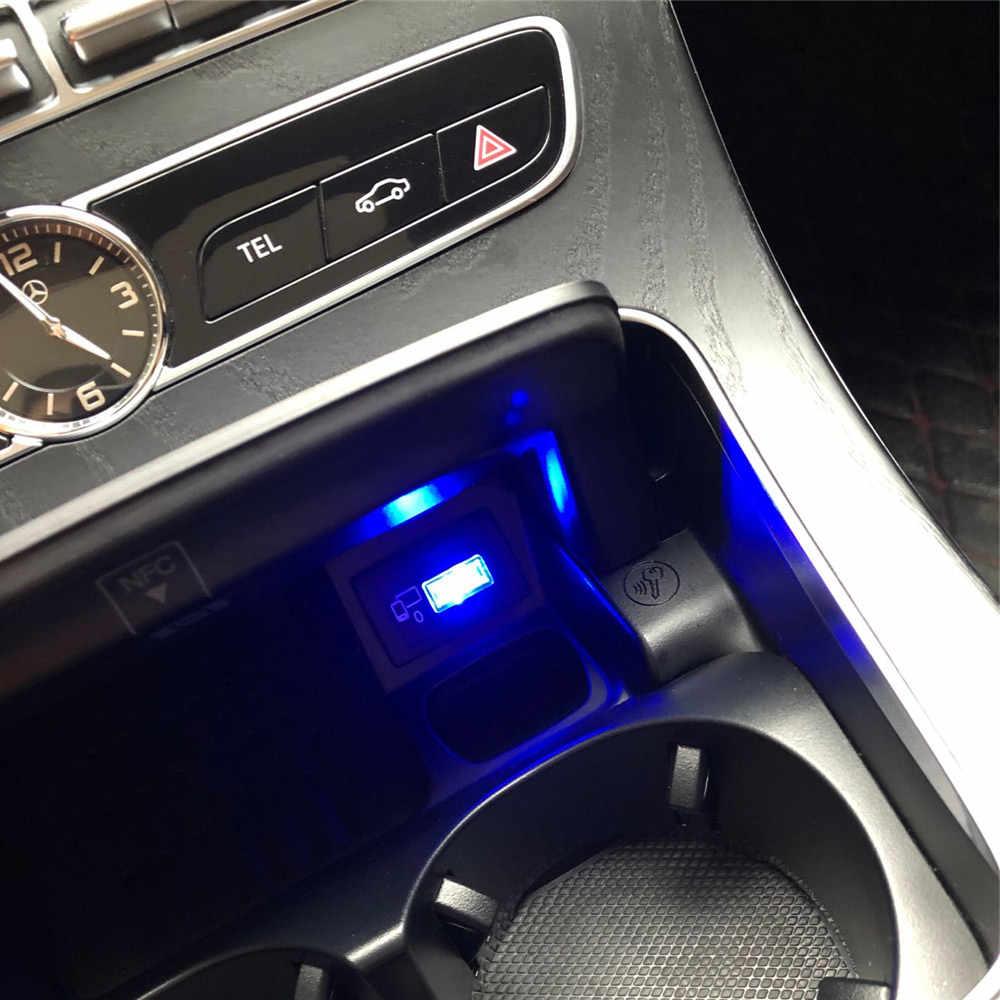سيارة USB LED جو أضواء ل ميتسوبيشي ASX أوتلاندر لانسر كولت تطور باجيرو الكسوف عبر جرانديز زنجر