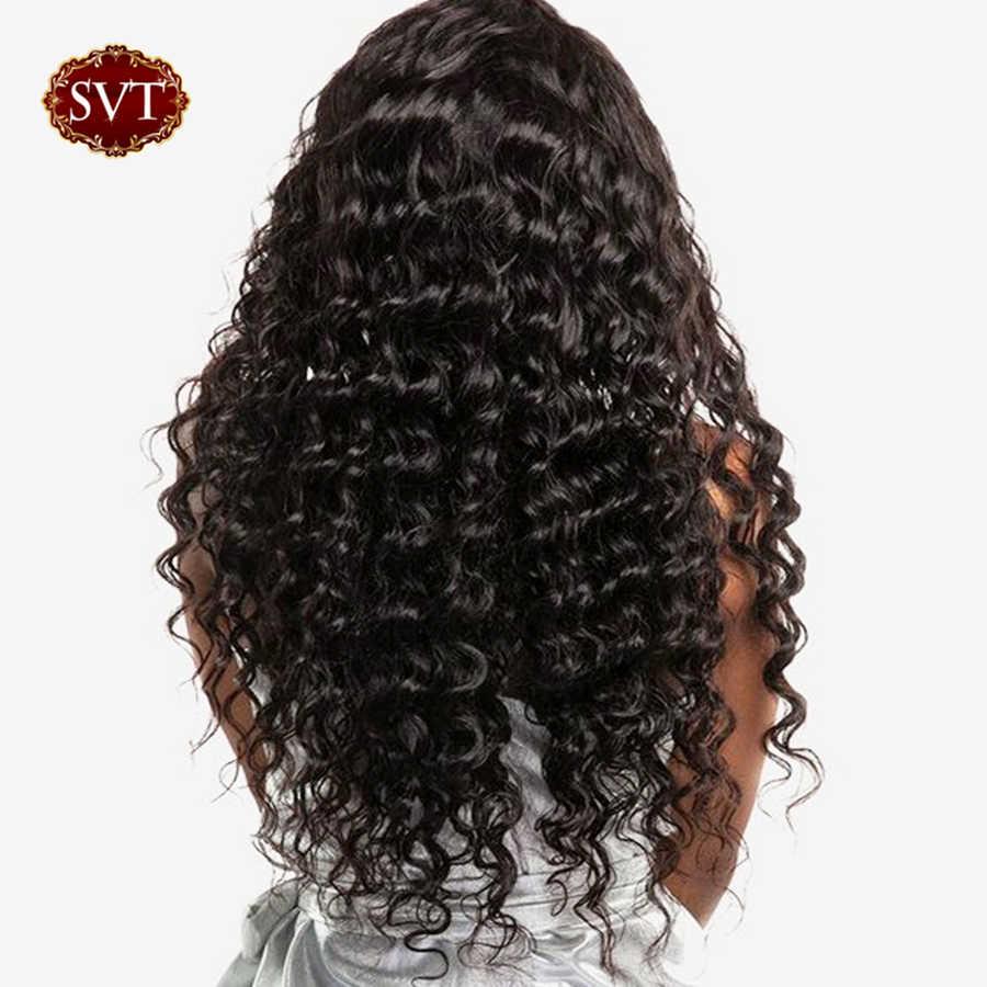 SVT Haar Brazillian Diepe Golf Hair Extensions 1/3/4 Bundels 8-26 Inch 100% Human Hair weave Niet Remy Haar 3 Bundels Deal
