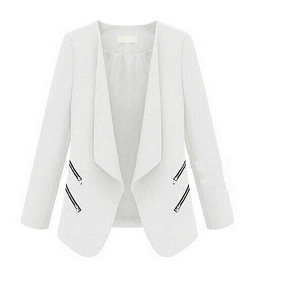MYPF Fashion America and Europe Office Women Basic Slim Suit Foldable Blazer Slim Fit Jacket Cardigan Outwear Plus size S-XL
