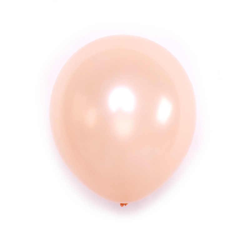 بالون من اللاتكس باللون الذهبي الوردي مقاس 10 بوصات بالون لؤلؤ الشمبانيا ديكور للحفلات عبر الحدود
