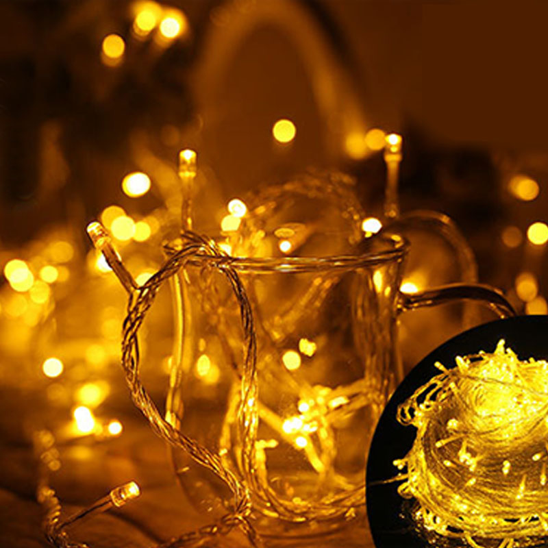 10M 100 LED Christmas Wedding Party Decor Outdoor Indoor String Light