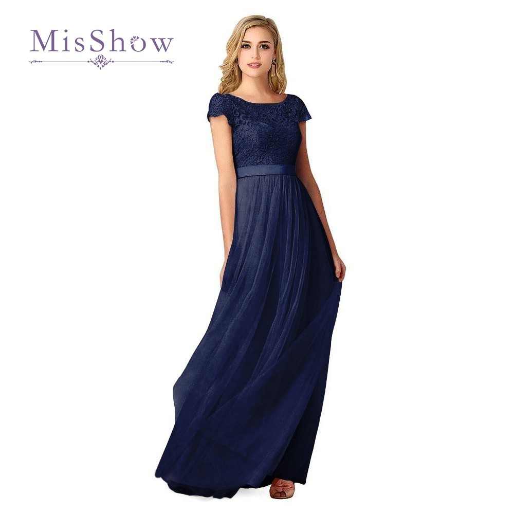 5 colors cheap lace navy blue bridesmaid dresses long 2017 short 5 colors cheap lace navy blue bridesmaid dresses long 2017 short sleeve burgundy tulle wedding party dresses vestido madrinha in bridesmaid dresses from ombrellifo Image collections