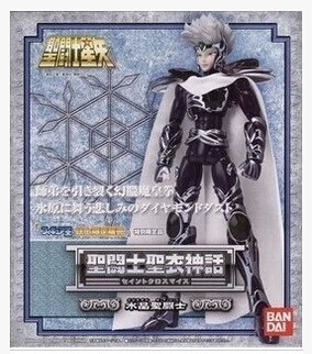 Free Shipping Bandai Saint seiya Hyoga master Cloth Myth Silver saint Crystal saint Action Figure messmer saint brieuc