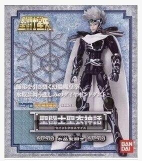 Free Shipping Bandai Saint seiya Hyoga master Cloth Myth Silver saint Crystal saint Action Figure