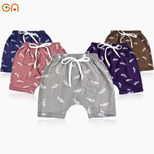 Детские хлопковые шорты для мальчиков и девочек для малышей для младенцев модные шорты с принтом, трусы для детей, милые высококачественные трусы, подарки, CN